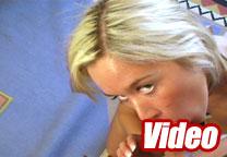 Naughty blonde banging